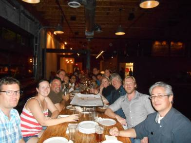 Enjoying time with friends and collaborators at the 2014 American Physiological Society meeting.