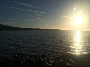 A beautiful sunset on the gulf coast of Florida.