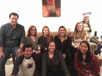 Enjoying the 2017 Demas lab Christmas party!
