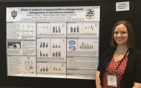 Presenting my research at the 2018 International Congress of Neuroendocrinology in Toronto, Canada.